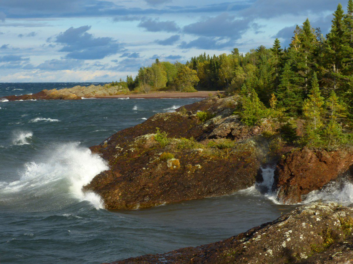 Lake Superior Shoreline  -  Keweenaw County, Michigan