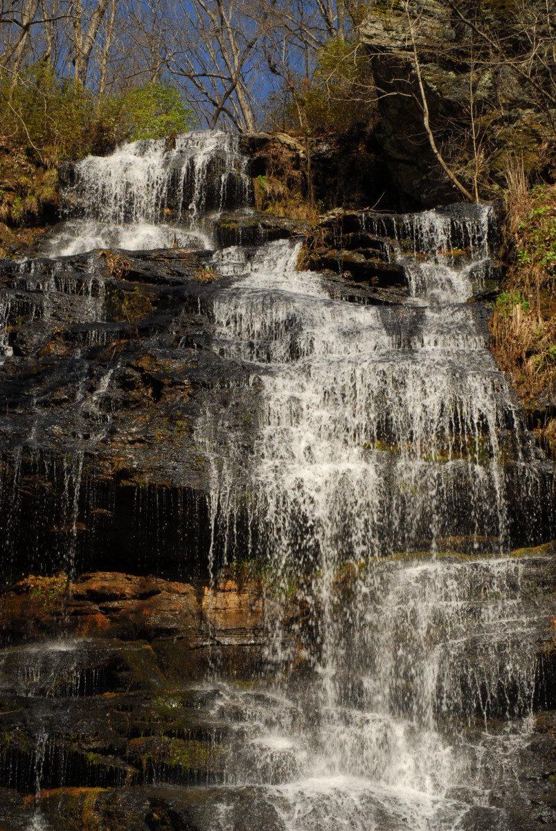 Station Cove Falls - Sumter National Forest, South Carolina