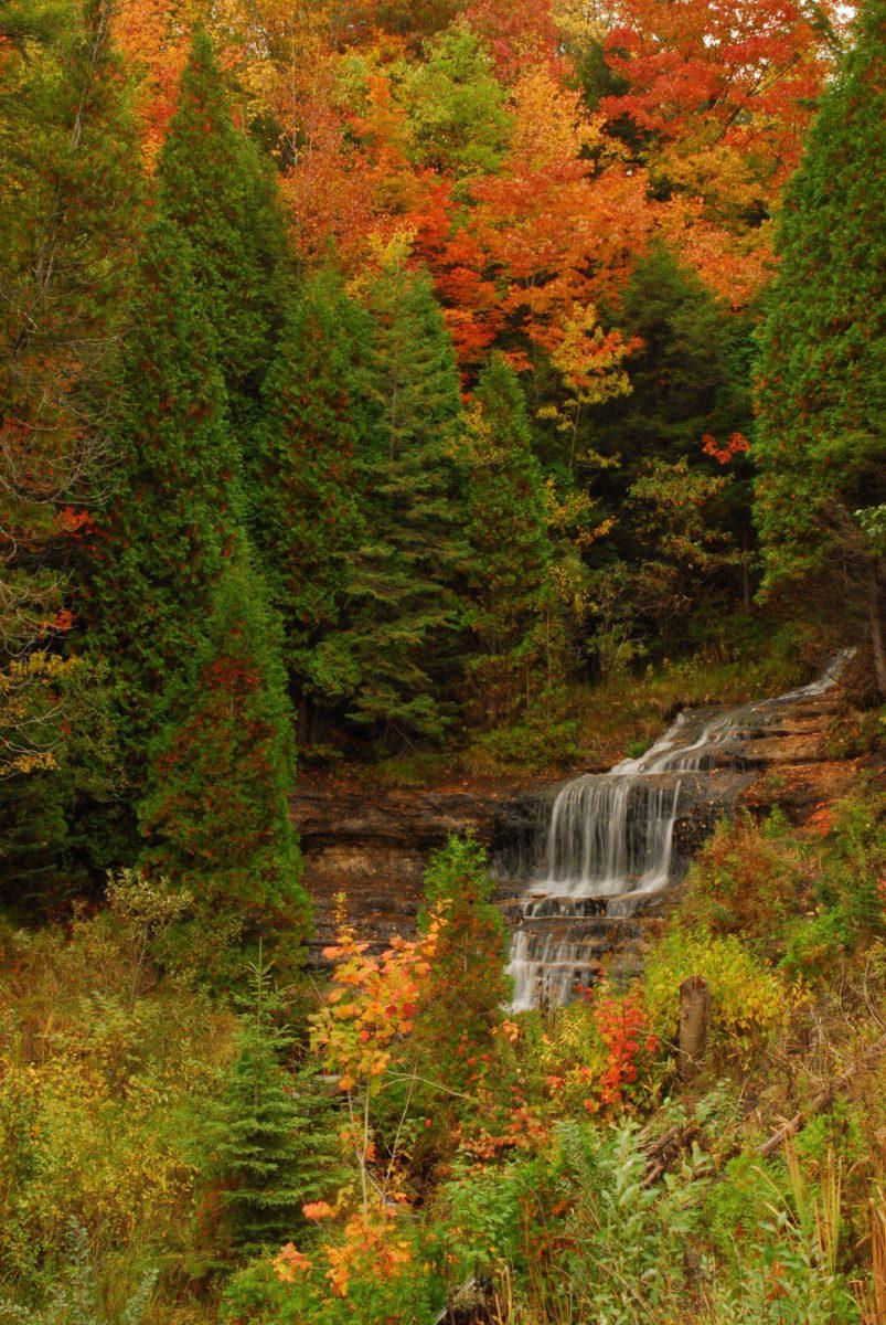 Alger Falls  -  Alger County, Michigan