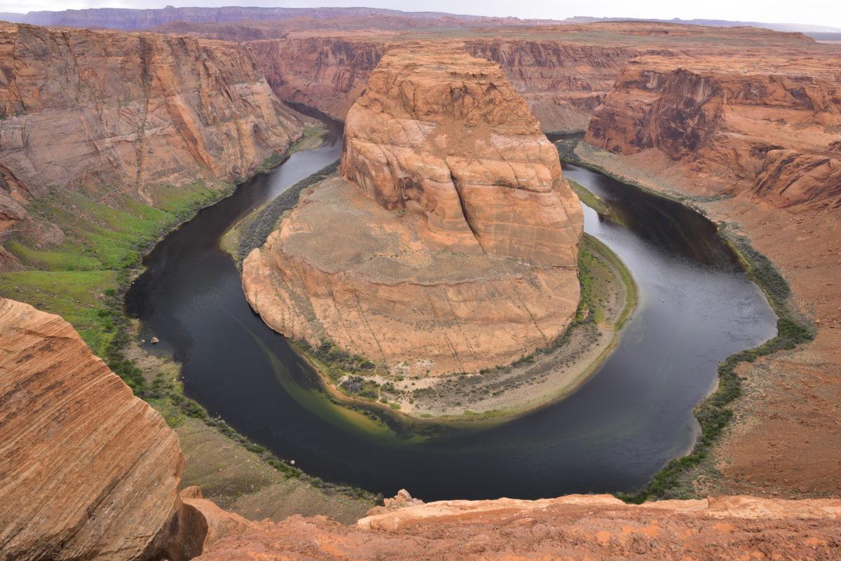 View of the Colorado River at Horseshoe Bend -  Glen Canyon National Recreation Area, Arizona