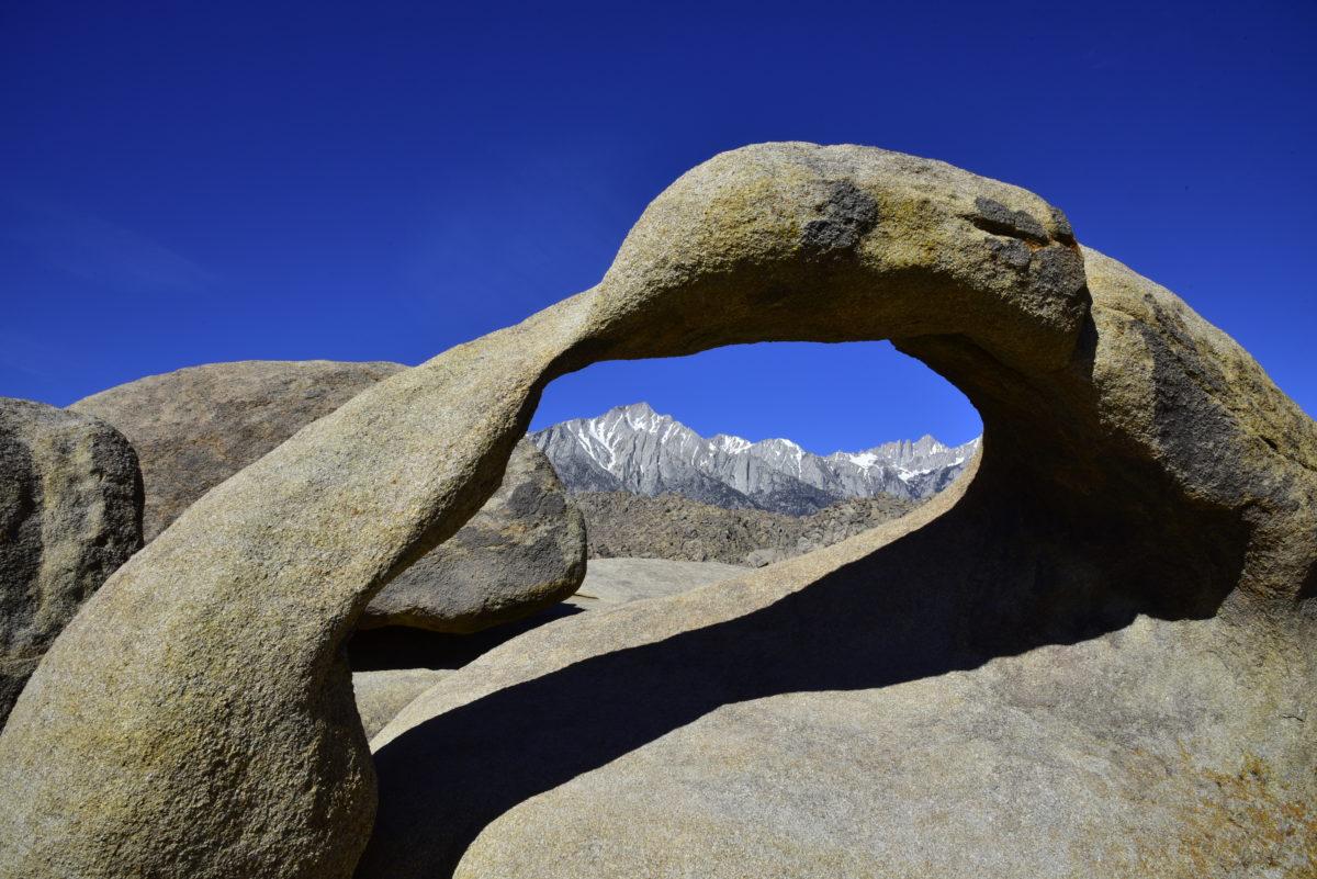 Mobius Arch  -  Arch Loop Trail  -  Alabama Hills Recreation Area, California
