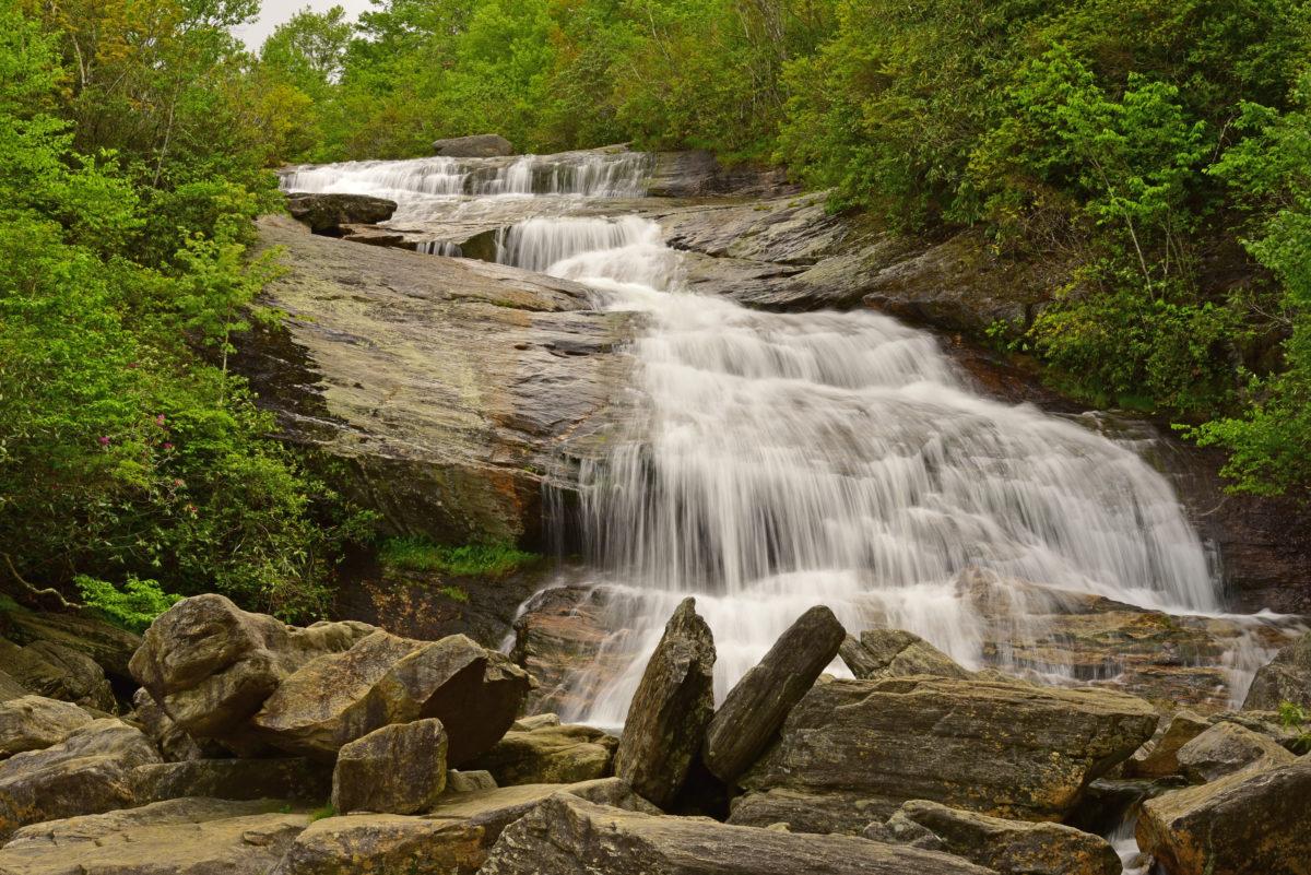 Lower Falls  -  Graveyard Fields  -  Pisgah National Forest, North Carolina