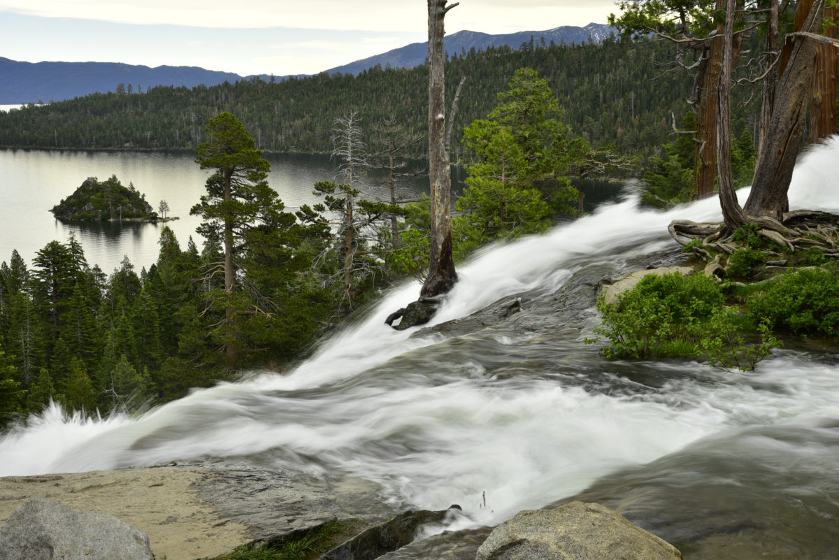 Eagle Falls and Emerald Bay  -  Lake Tahoe Basin National Forest, California