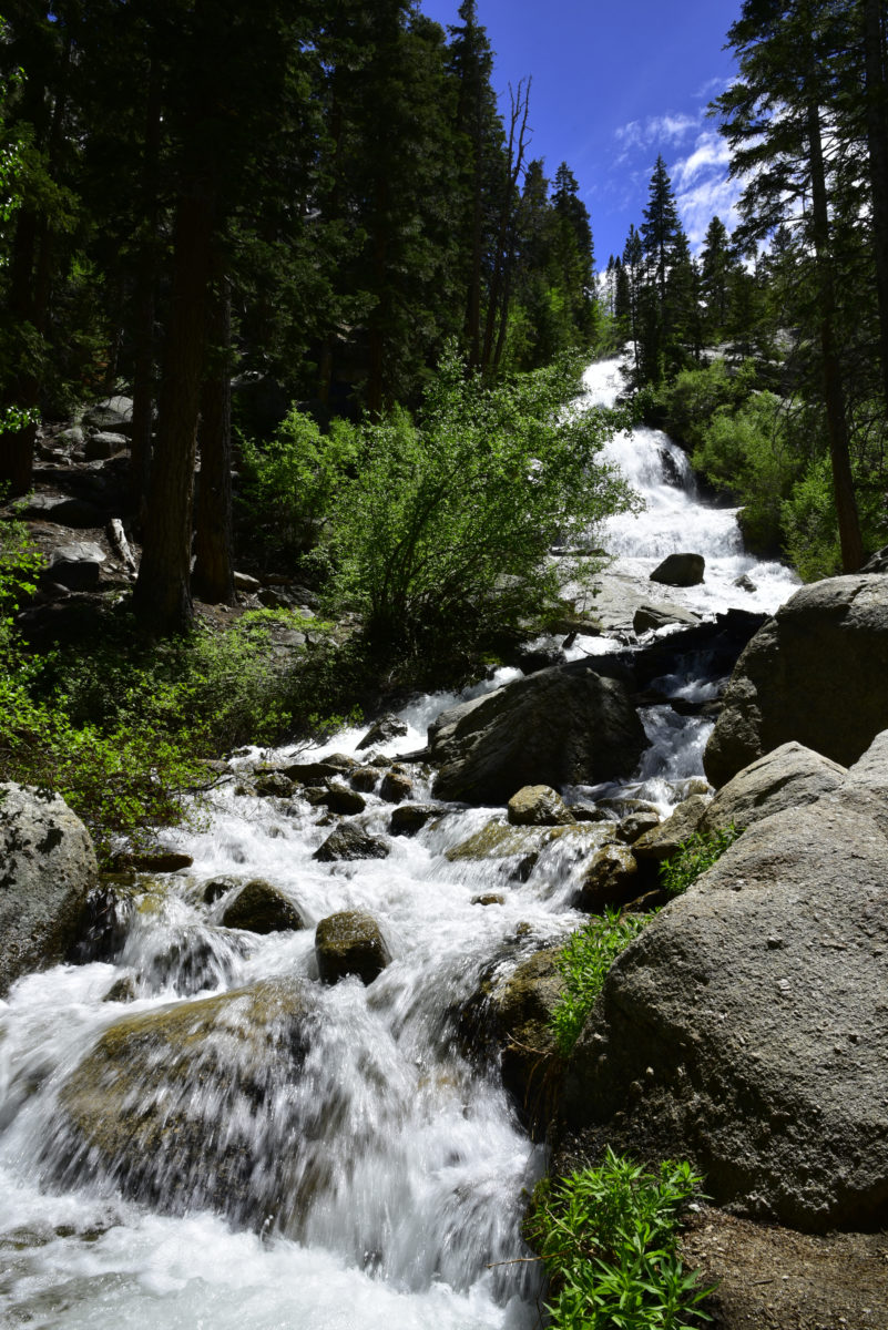 Whitney Portal Falls  -  Inyo National Forest, California